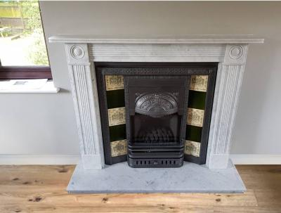marble hearth