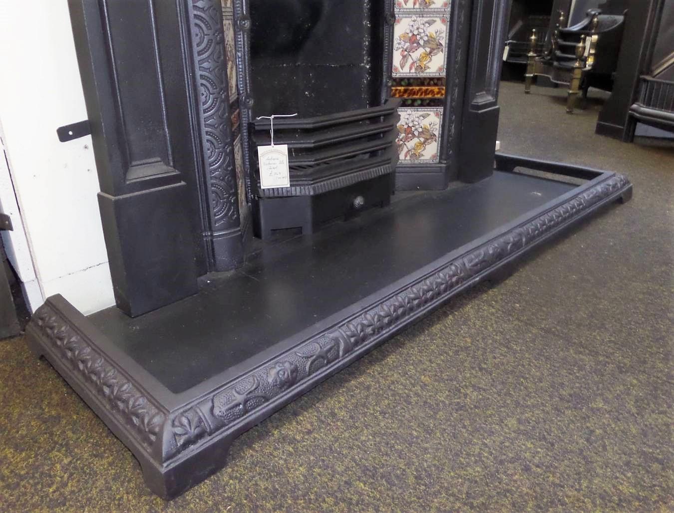 Pleasant Buy Online Antique Victorian Cast Iron Fireplace Fender Download Free Architecture Designs Scobabritishbridgeorg