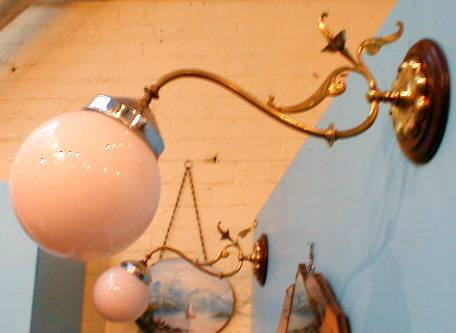 Brass lamp pretro vintage antique