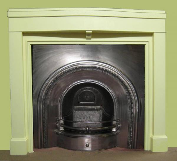 Antique 1930s Painted Fire Surround
