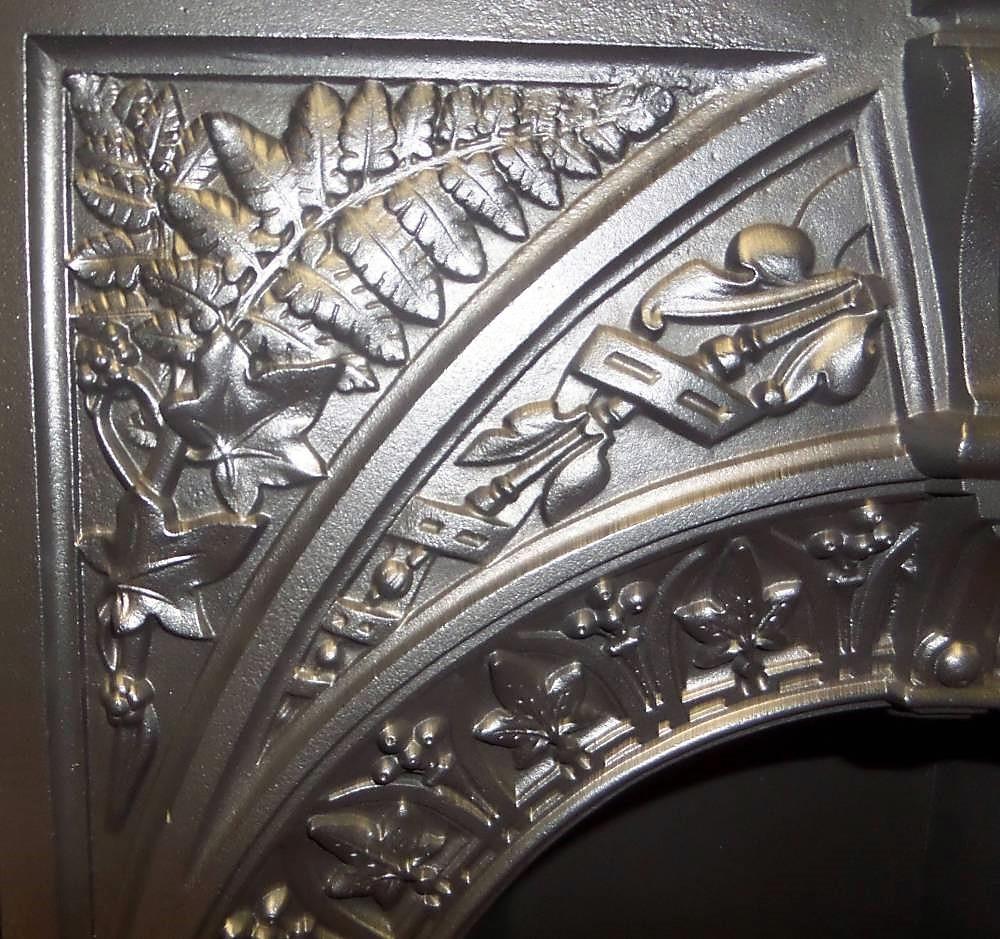 Antique Bedroom Victorian Cast Iron Fireplace