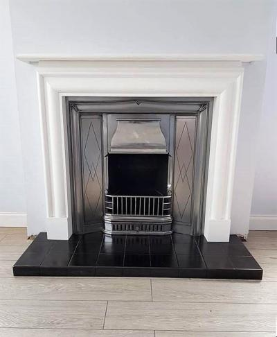 Buy Online The Retro 1930s Period Cast Iron Insert Fireplace