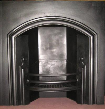 Antique Large Gothic Arched Insert