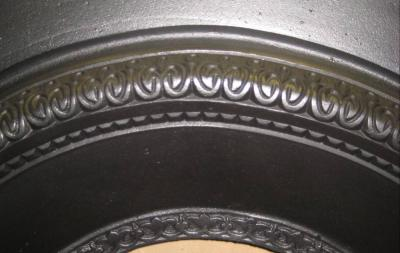 Antique Arched Cast Iron Insert