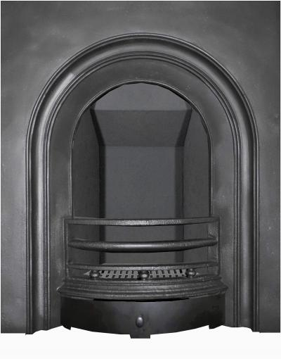 britains heritage arched fireplace