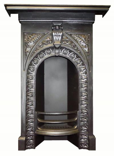 Antique Bedroom Victorian Cast Iron Fireplace