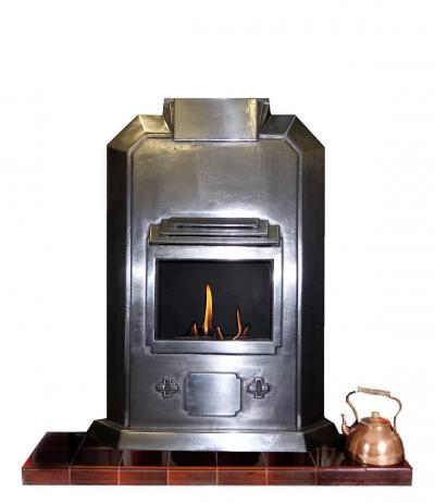 art deco gel fireplace