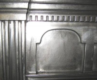 Antique Edwardian Cast Iron Integral