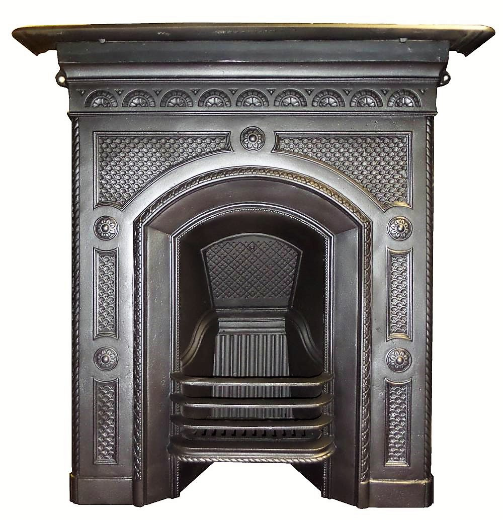 Antique Vintage Bedroom Fireplace: Buy Online: Antique Bedroom Old Edwardian Cast Iron Fireplace