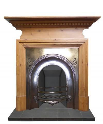 Antique  Burnished Arched Insert