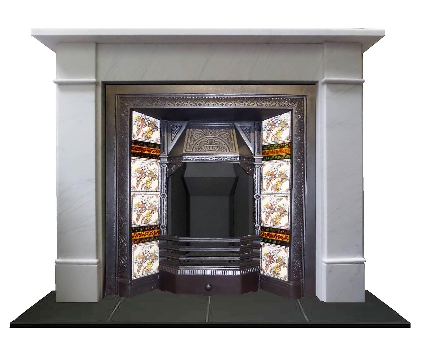 Buy Online 19th Century Victorian Cast Iron Fireplace