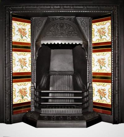 Victorian-fireplace