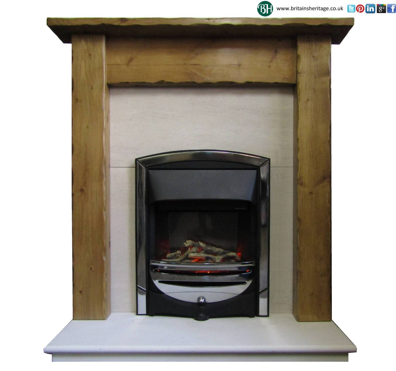 Buy Online Electric Fireplace Suite Offer