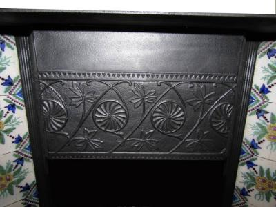Arts and Craft fireplace