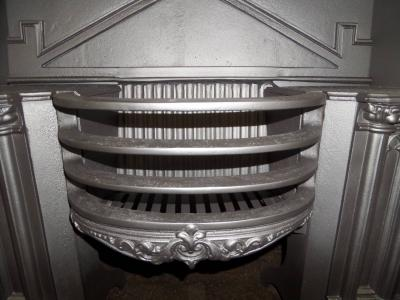 antique hob register grate fireplace