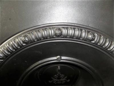 edwardian arched fireplace insert