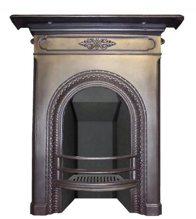 antique fireplace victorian