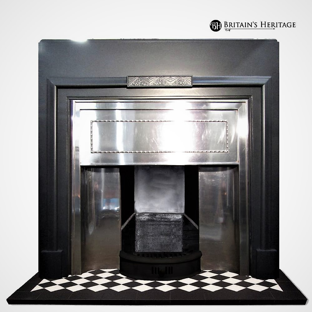 Buy Online Antique 1930 S Stainless Steel Fireplace Insert