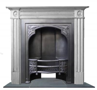 antique hobgrate fireplace