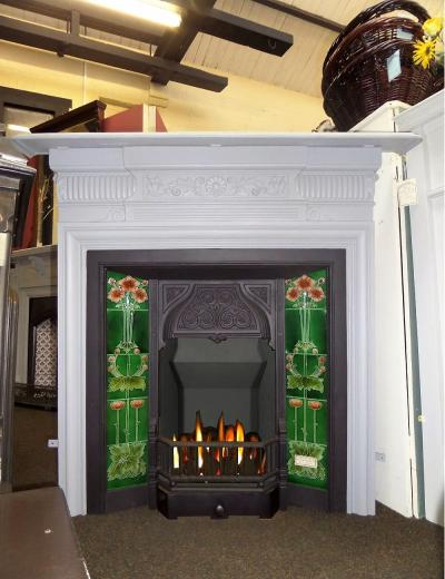 antique edwardian fireplaces