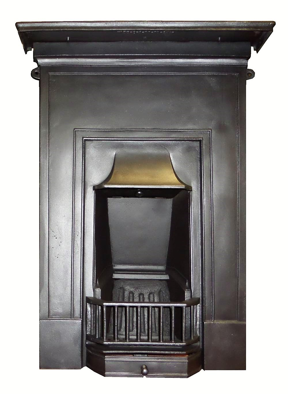 Marble makeover british ceramic tile - Ai 014b Antique 1920s Cast Iron Bedroom Combination Fireplace