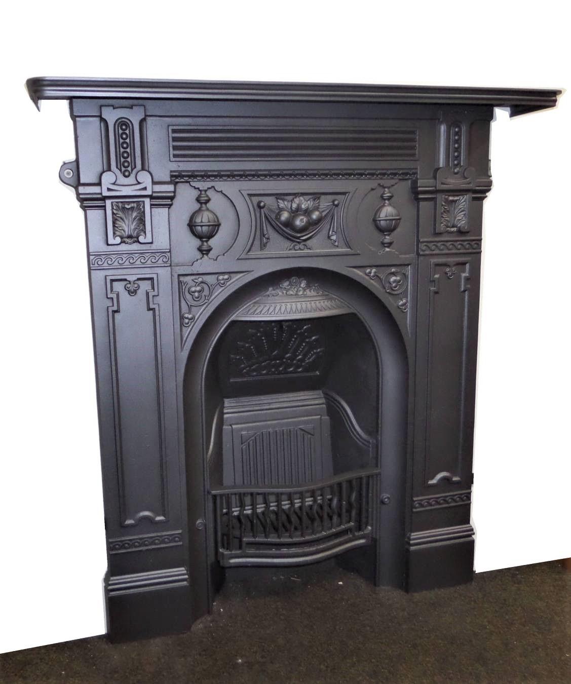 Buy Online Antique Victorian 1890 S Cast Iron Combination Fireplace