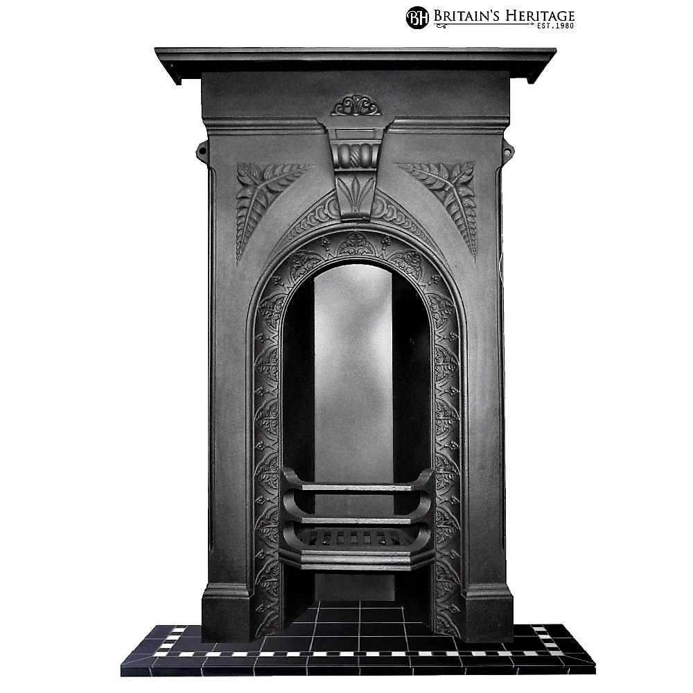 Antique Vintage Bedroom Fireplace: Buy Online: Antique Victorian Cast Iron Bedroom Fireplace
