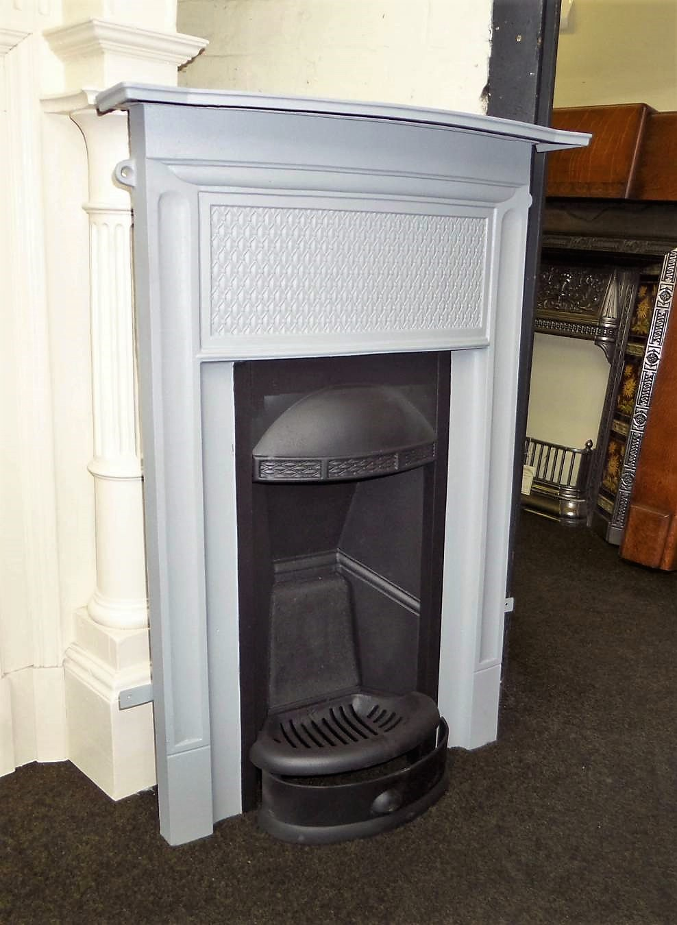 Buy Online Antique Bedroom Cast Iron Edwardian Fireplace