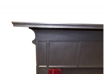 antique 1910 fireplace