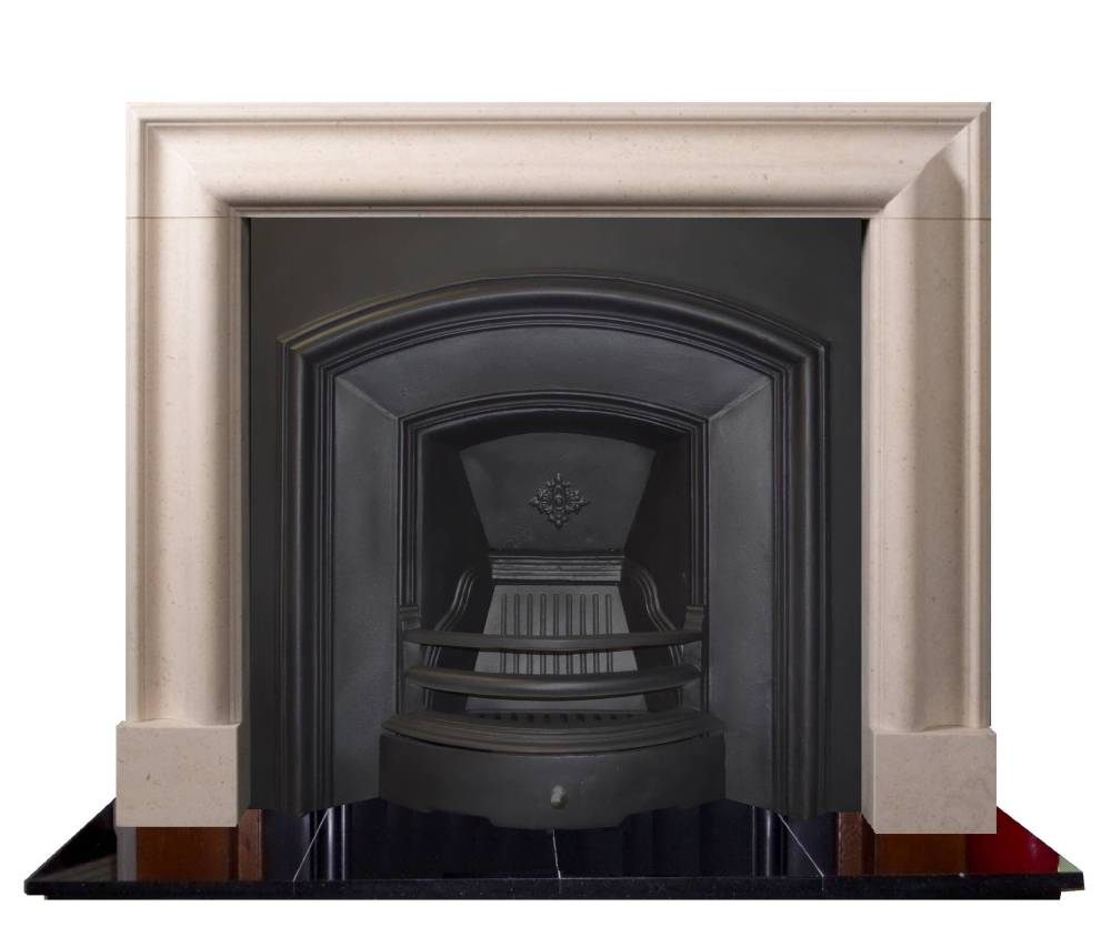 Melrose Cast iron Period Fireplace Insert