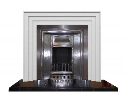 retro small fireplace art deco