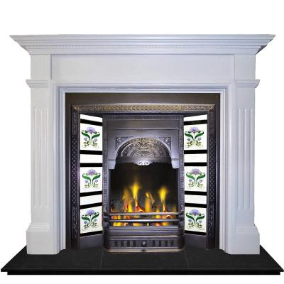 victorian fireplace high efficient