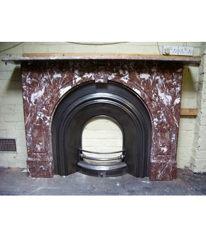 Antique Marble Surround Restored