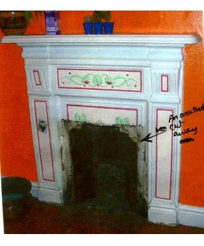 Fireplace Restoration Service - Britains Heritage can restore your antique fireplace to its former glory. We have more than 24 years experience of restoring antique fireplaces.