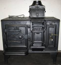 Antique Kitchen Range Restored
