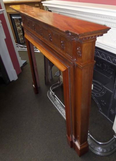 1903 antique fireplace