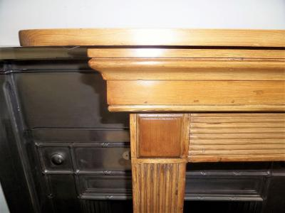 antique georgian surround mantel