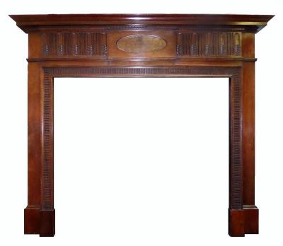 Britain`s Heritage Edwardian Mahogany surround
