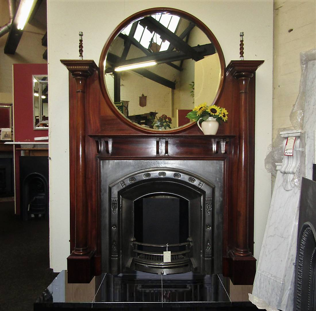 Buy Online Early 20th Century Mahogany Surround With