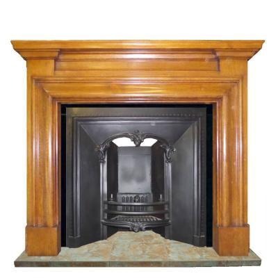 antique edwardian oak surround