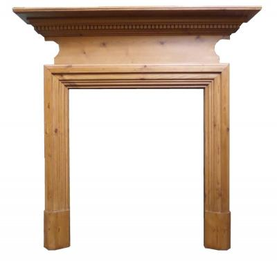 Antique Edwardian Pine Surround