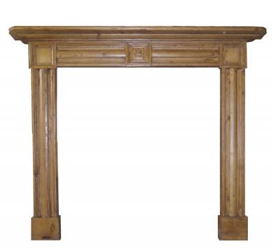 Antique Georgian Pine Surround