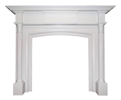 Antique Painted Georgian Victorian Period Surround