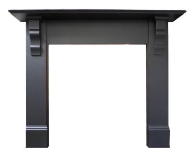britain`s heritage antique slate surround