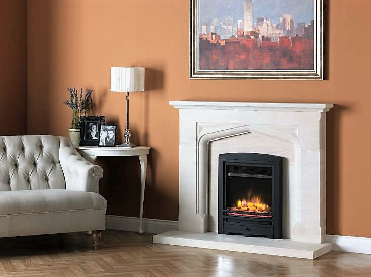 Buy Online The Boscombe Portuguese Limestone Fireplace Suite