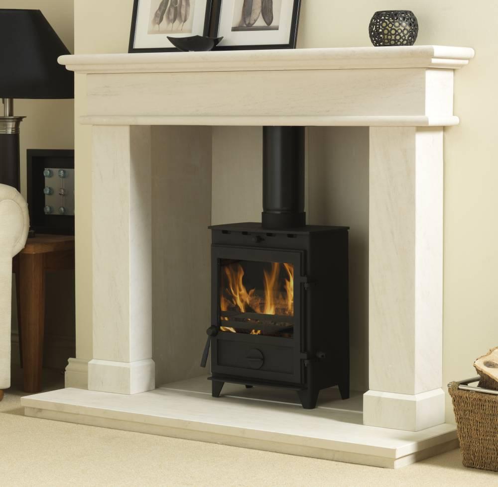 The Balmoral Limestone Fireplace Surround