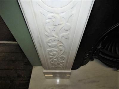 Marble-chimneypiece