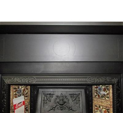 antique slate stove fire surround
