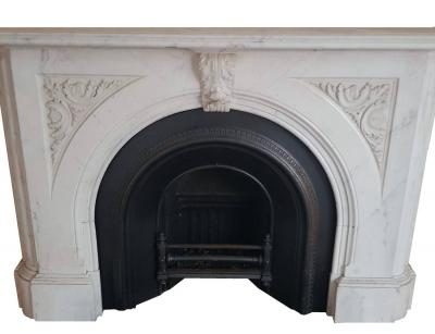 antique marble chimneypiece
