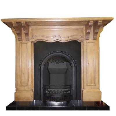 ANTIQUE EDWARDIAN CORBEL SURROUND